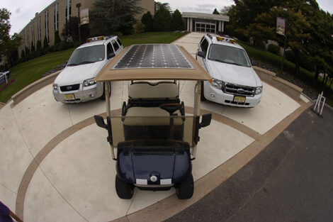 Solar Power Golf Cart
