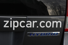 Zip Car Logo
