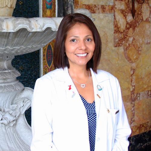 Rosario Sanchez in Wilson Hall