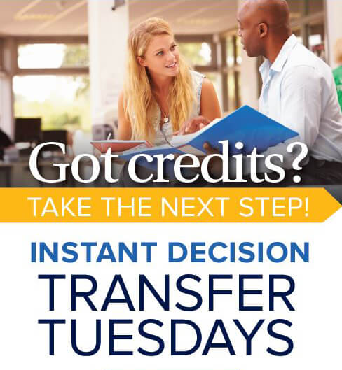 Got Credits? Take the Next Step: Instant Decision Transfer Tuesdays