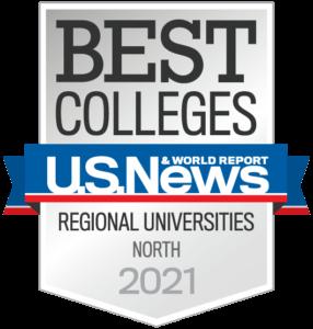 U.S. News & World Report, Best Colleges Regional Universities North 2021