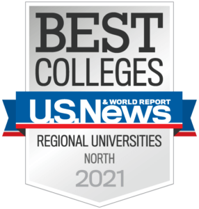 Best Colleges U.S. News and World Report - Regional Universities, North, 2021