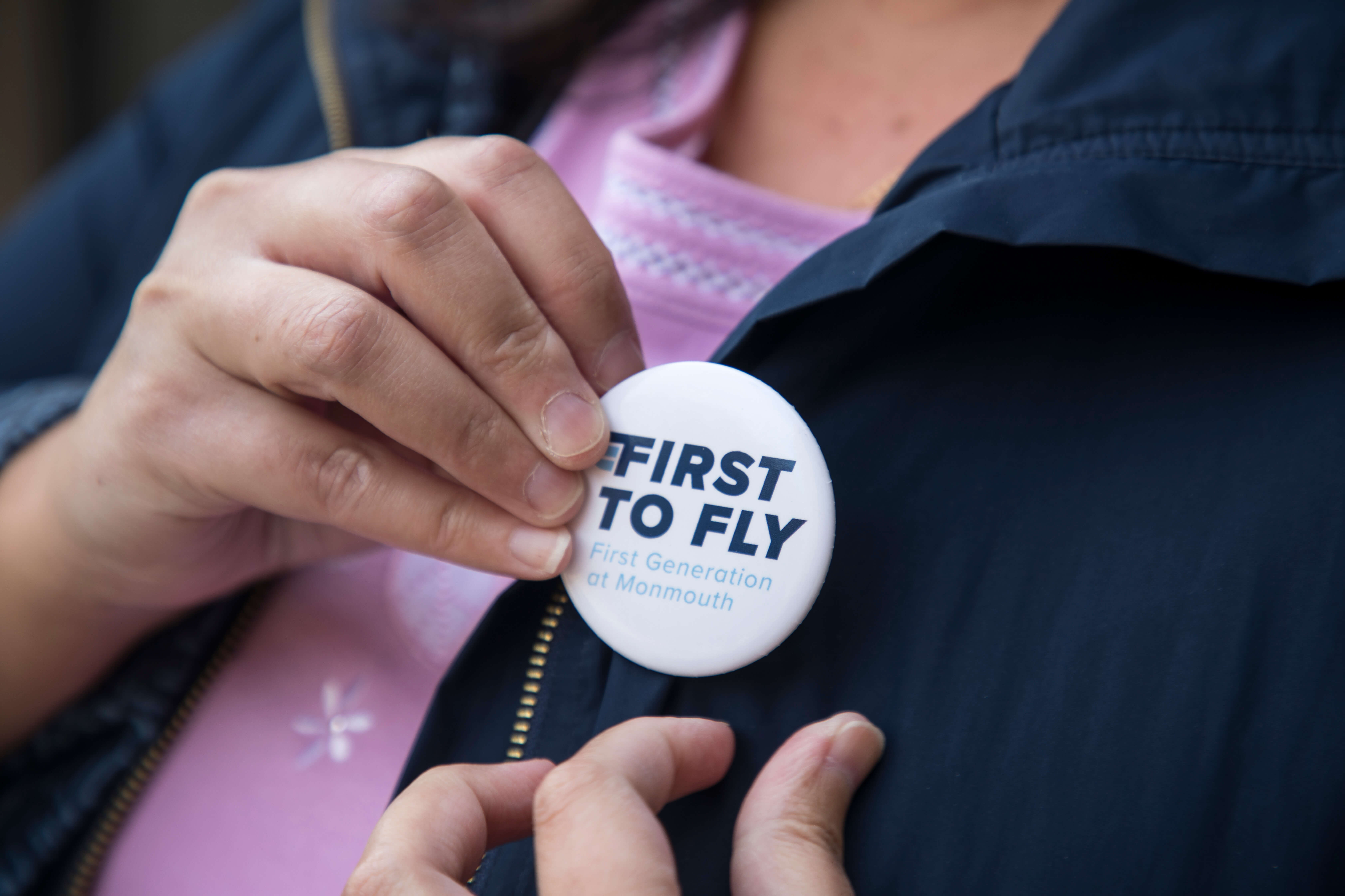 "Monmouth's ""First to Fly"" initiative."