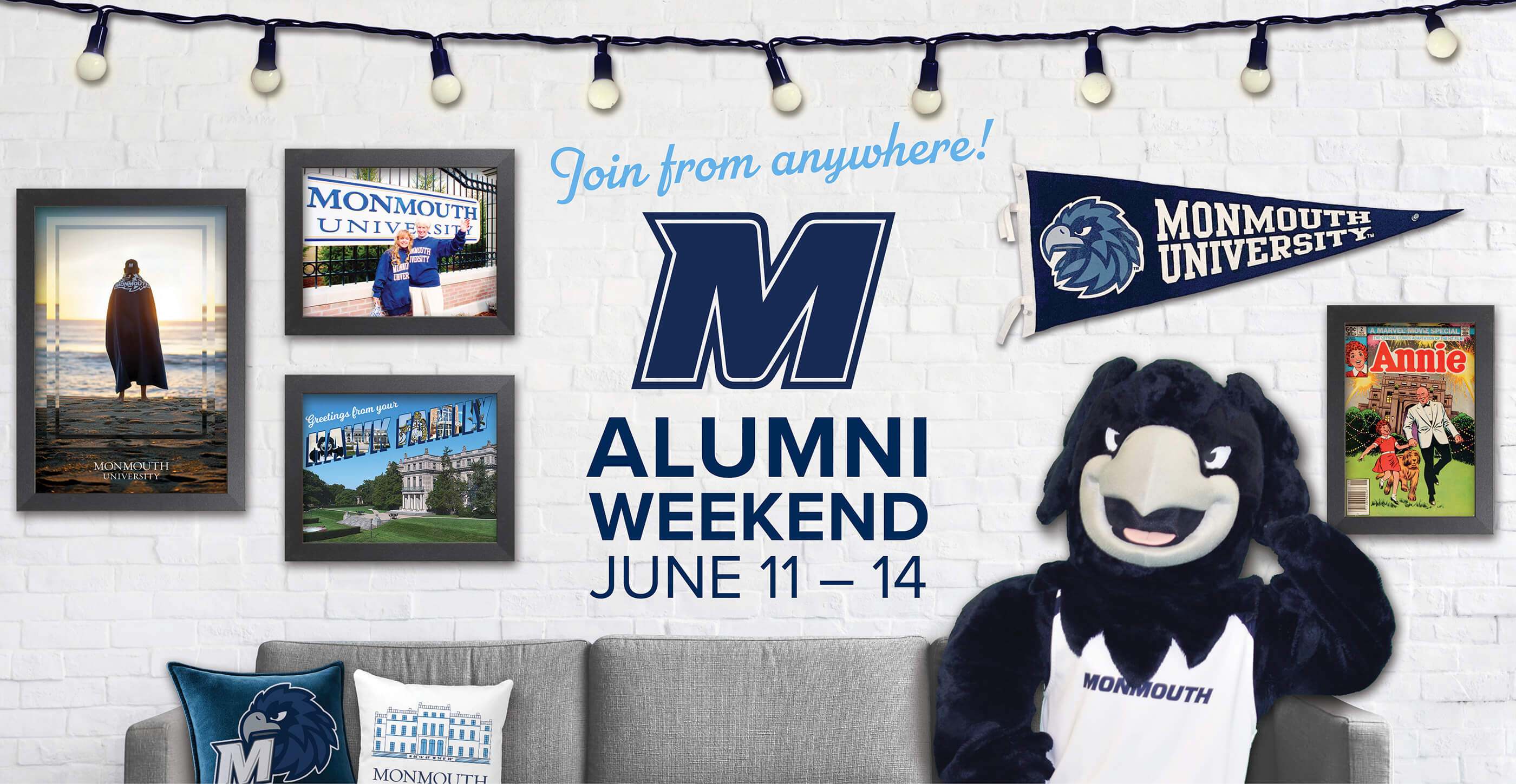 Join from anywhere! Alumni Weekend, June 11-14