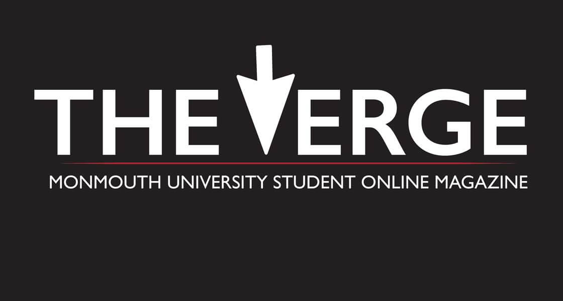 Image: logo for The Verge, a online student magazine at Monmouth University.