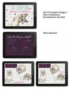 Student: Olivia Mazanec – Course: Graphic Design 2