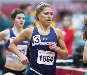 Allie Wilson '18 '19MBA competed in Olympic Trials