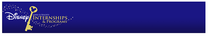 Disney Internship Banner