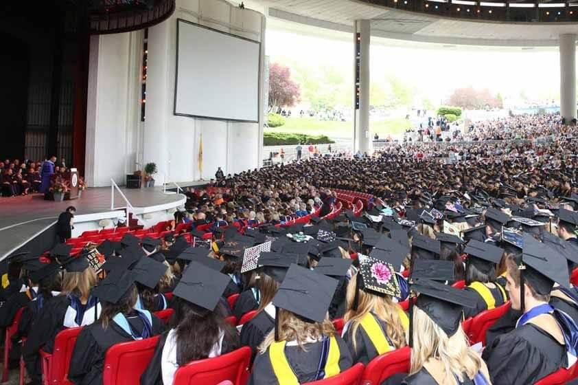 Undergraduate Commencement at the PNC Bank Arts Center