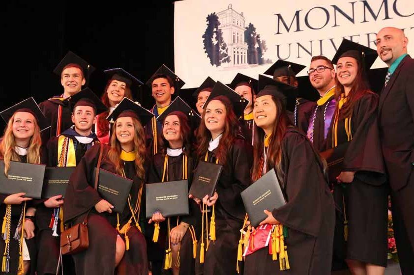 Undergraduate Commencement, May 9, 2018 | Commencement | Monmouth ...