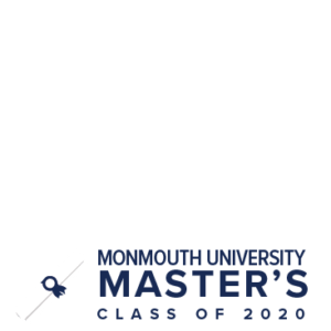 MU Facebook Profile Picture Frames: Master's Class of 2020 Clear with Diploma