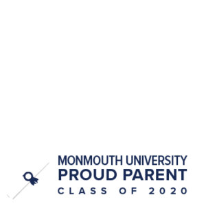 MU Facebook Profile Picture Frames: Proud Parent Class of 2020 Clear with Diploma