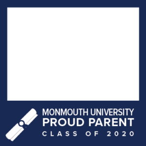 MU Facebook Profile Picture Frames: Proud Parent Class of 2020 Blue with Diploma