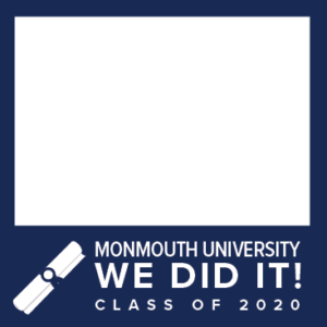 MU Facebook Profile Picture Frames: We Did It! Class of 2020 Blue with Diploma