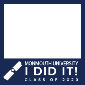 MU Facebook Profile Picture Frames: I Did It! Class of 2020 Blue with Diploma