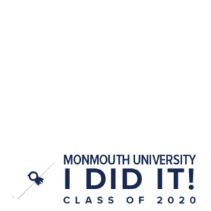 MU Facebook Profile Picture Frames: I Did It! Class of 2020 Clear with Diploma