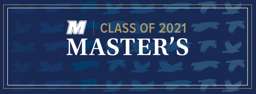 Click for Class of 2021 Masters image