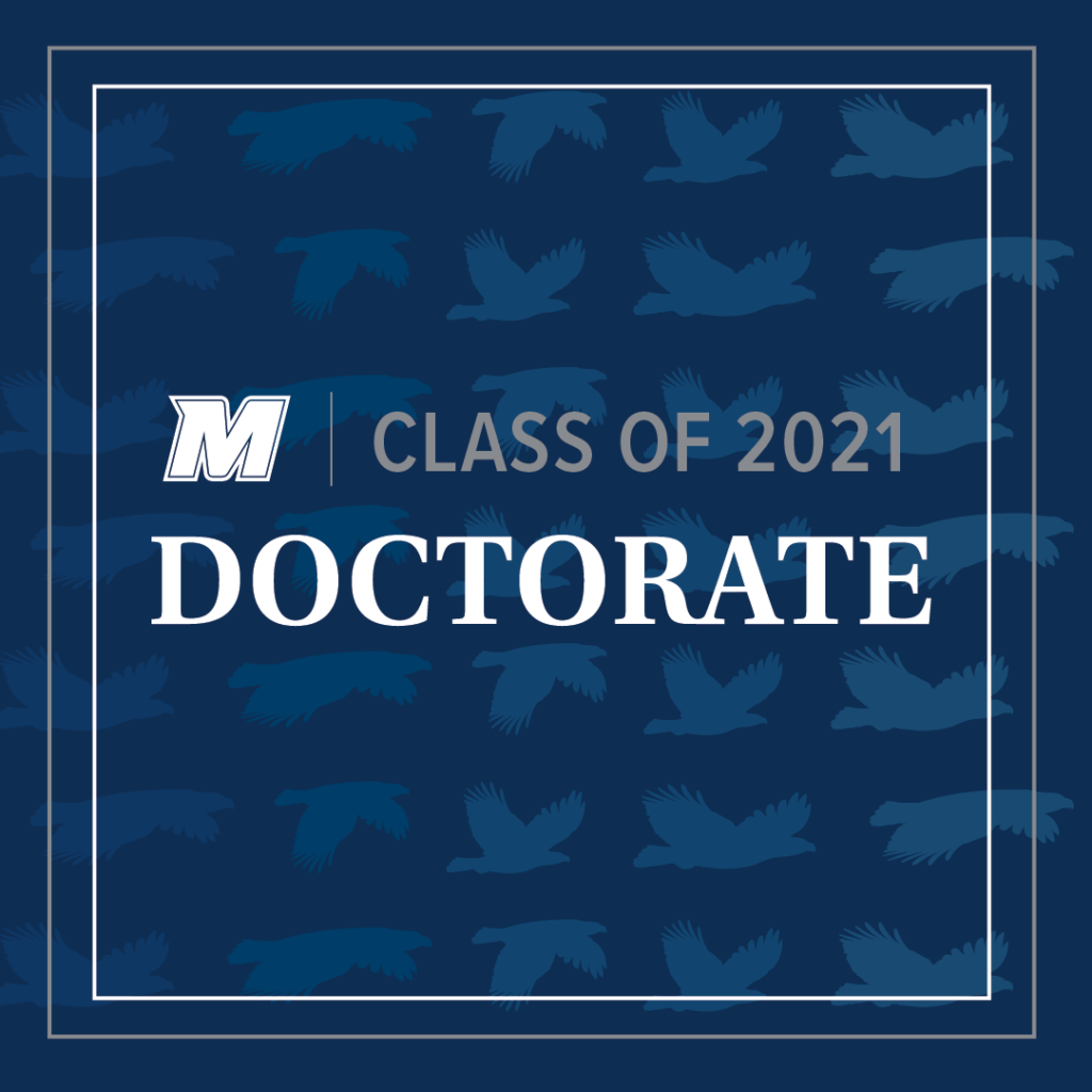 Click for Class of 2021 Doctorate larger image