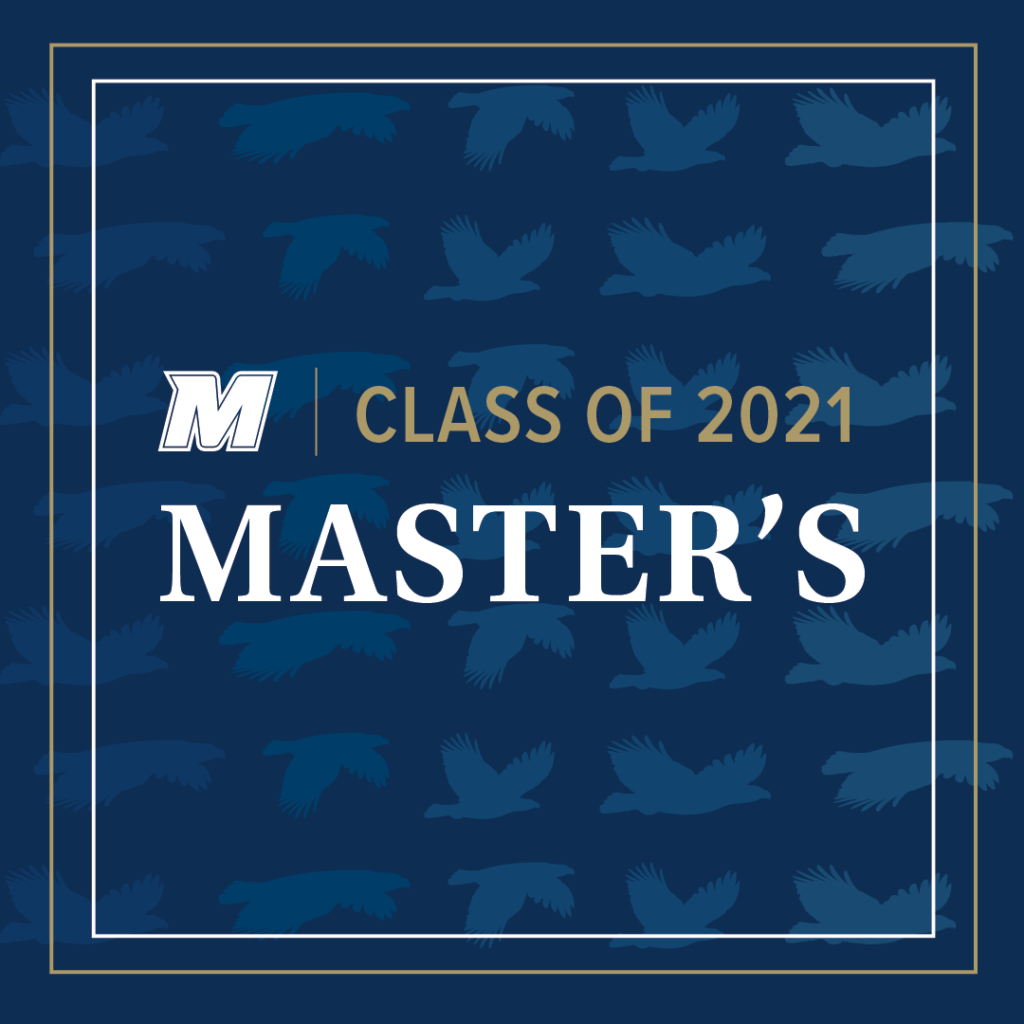 Click for Class of 2021 Masters larger image