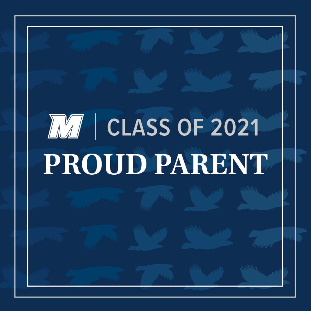 Click for Class of 2021 Proud Parent larger image