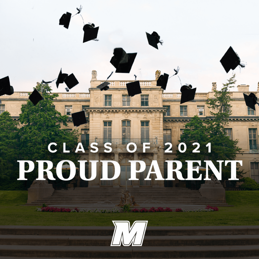 Click for Class of 2021 Proud Parent larger Great Hall image