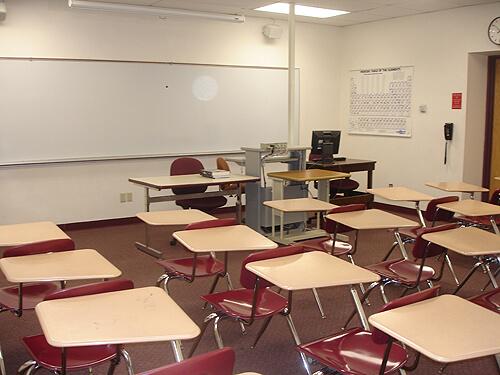 Edison Hall Classroom