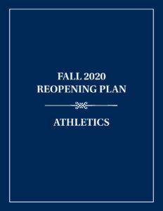 Athletics Reopening Plan