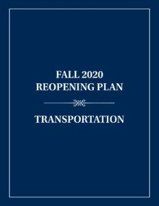 Transportation Reopening Plan
