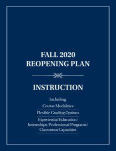 Instruction Reopening Plan