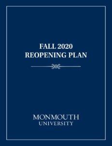 Fall 2020 Reopening Plan