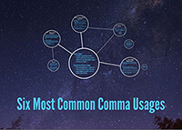 Six Most Common Comma Usages