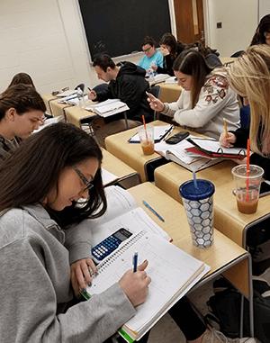 Math Classroom - Students