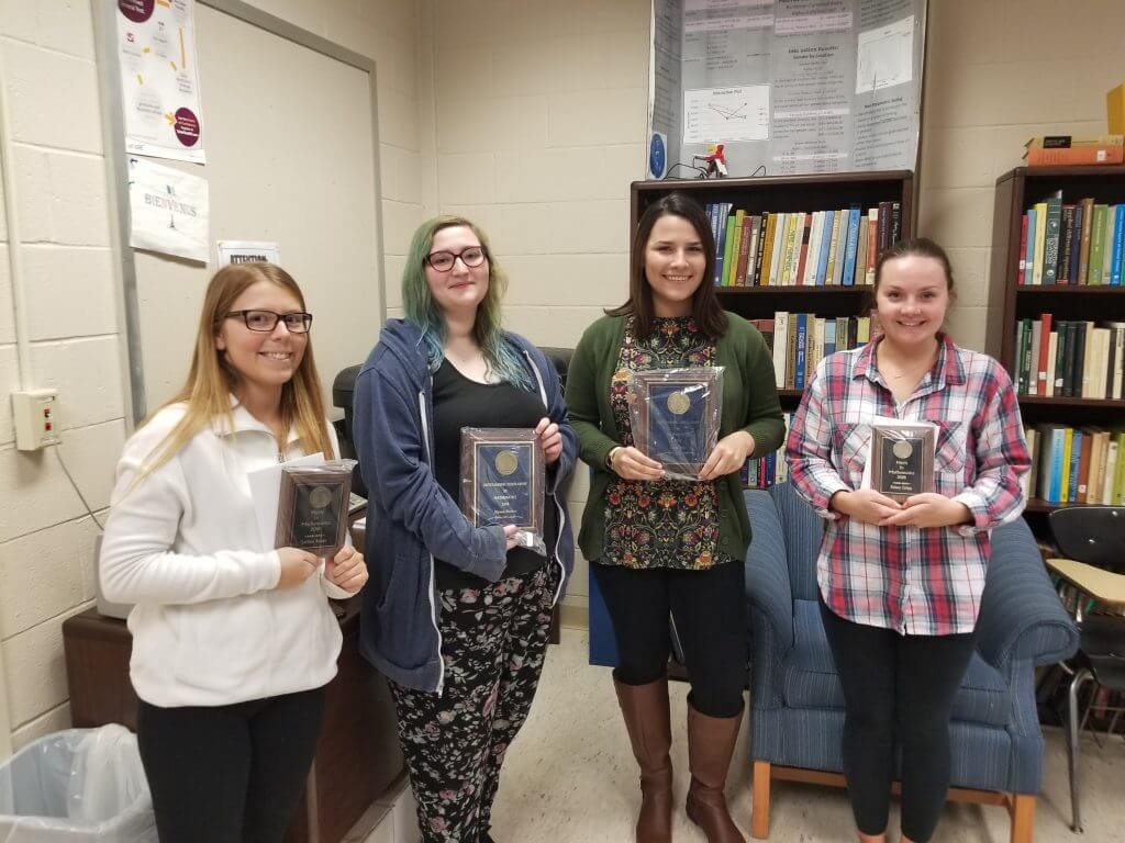 Click to View 2018 Math Department Award Winners