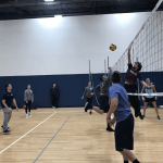 Volleyball Competition: Math Students vs Faculty Photo 3