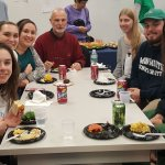 Students and faculty join in the fun