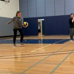 Photo of Math Department Students vs Faculty Volleyball Match Photo 2