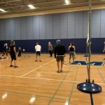 Photo of Math Department Students vs Faculty Volleyball Match Photo 5