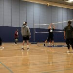 Photo of Math Department Students vs Faculty Volleyball Match Photo 9