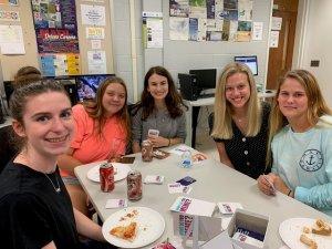 Photo of MU Math Club's Game Night Photo 2