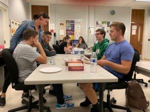 Photo of MU Math Club's Game Night Photo 6