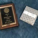 Photo of Senior Award Plaque - 4