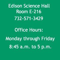 Biology Office Information