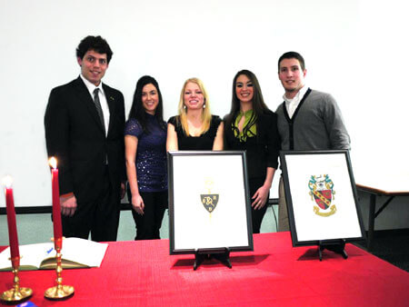 Tri-Beta Induction 2011 Photo 1