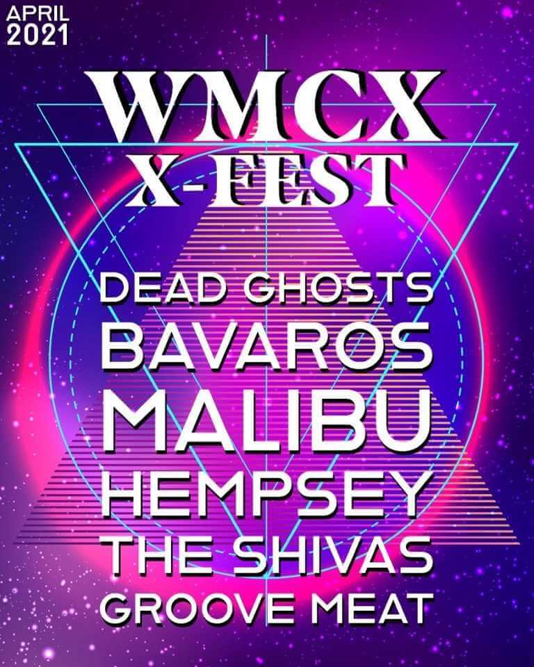 Poster image for Join VIRTUAL X-FEST on Zoom on Friday, April 16, 4 p.m. - click or tap to access Zoom
