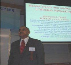 Professor Obaidat at IEEE ICUT 2009