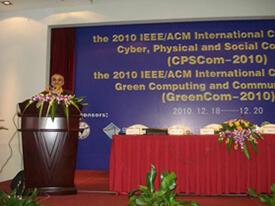 Prof Obaidat at GreenCom-CPSCom 2010