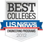 US News Badge 2012