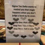 Photo of poster for Blind Date with a Book, March 2019