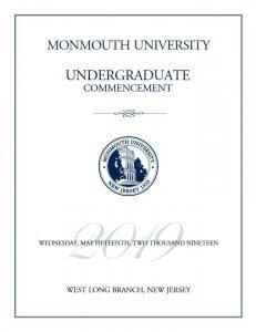 Click photo to read the 2019 Undergraduate Commencement program