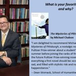 Photo of Dr. Womack's Fall Book List Recommendation